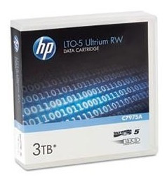 Cinta Backup Datos Regrabable Hp Lto5 Ultrium 5 3tb C7975a