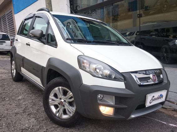 Fiat Idea Adventure 1.8 Flex Manual Branca - 2015