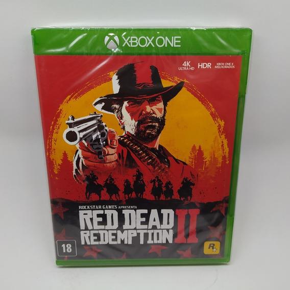 Red Dead Redemption 2 Ii Xbox One Mídia Física Lacrado Jogo