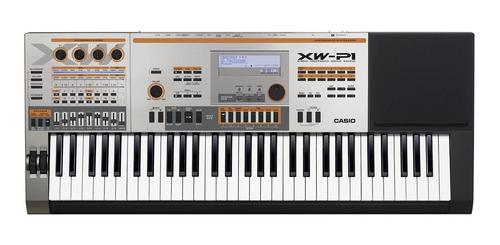 Imagen 1 de 8 de Teclado Casio Xw-p1 61 Teclas Sintetizador  Sensitivo Usb