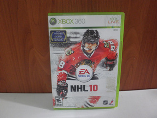 Juego Xbox 360 Nhl 10 Usado