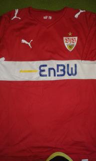 Camisa Stuttgart Alemanha Bundesliga Conservação 10