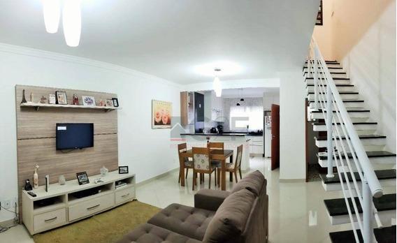 Casa Com 3 Dormitórios À Venda, 124 M² - Parque Jambeiro - Campinas/sp - Ca5741