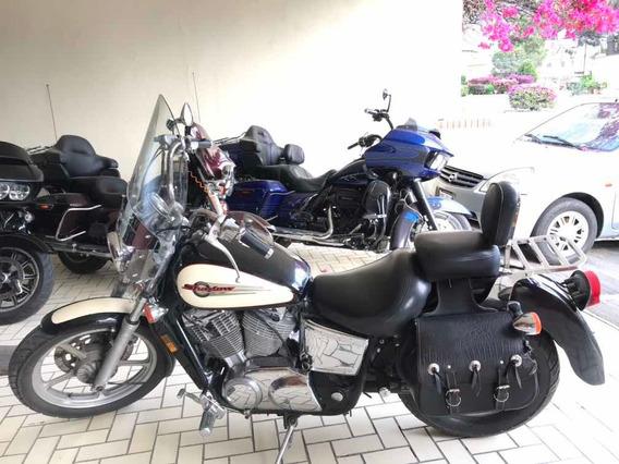 Honda Shadow Spirit 1100 Importada Titulo Azul