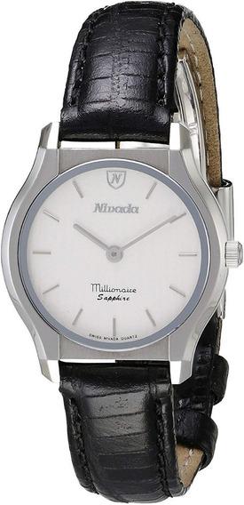 Reloj Formal Para Dama Nivada Swiss Ng17261lacbi
