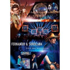 Fernando E Sorocaba Sinta Essa [dvd Original Lacrado]