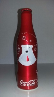 Garrafa Coca-cola Alumínio Natal 2016