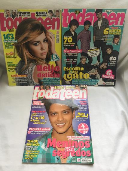 3 Revistas Toda Teen