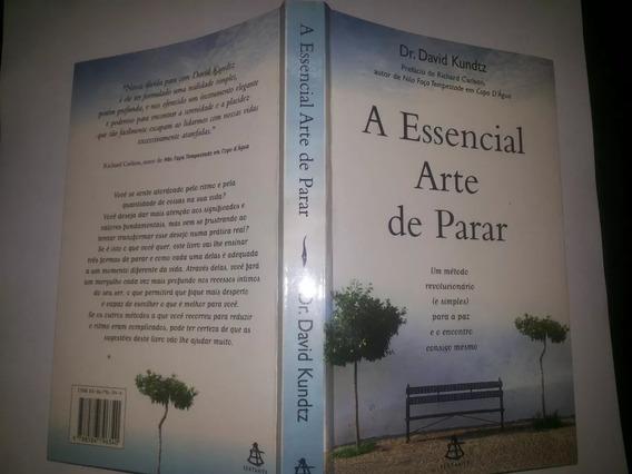 Livro A Essencial Arte D Parar David Kundtz Enc Consig Mesmo