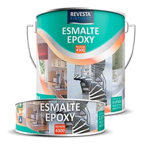 Esmalte Epoxi Brillante Secado Rapido Color - 1 L