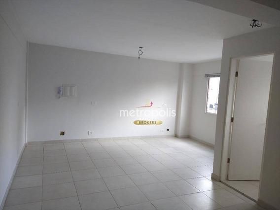 Sala Para Alugar, 39 M² Por R$ 1.200,00/mês - Santo Antônio - São Caetano Do Sul/sp - Sa0483