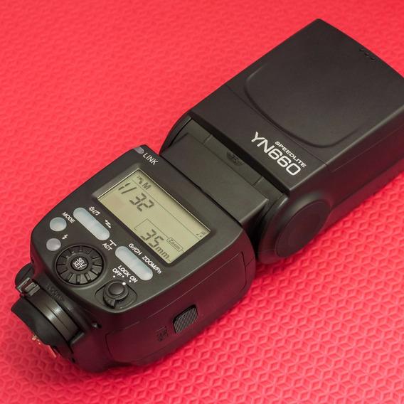 Flash Yongnuo Yn-660 - Nikon, Canon, Fujifilm (== Yn-560 Iv)