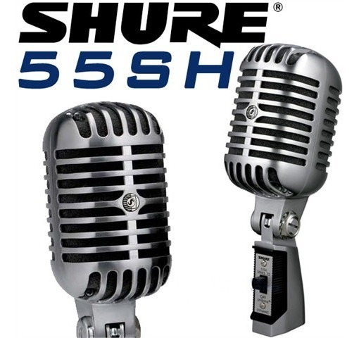 Microfone Shure 55sh Vintage Elvis Original Frete Grátis