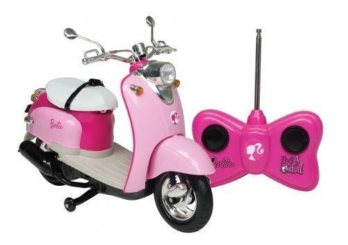 Brinquedo Moto Barbie Candide Com Controle Pronta Entrega