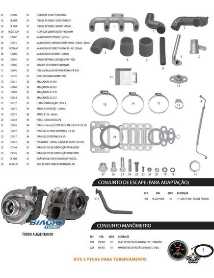 Kit Turbo F1000 F4000 Motor Mwm 229-4 225-4 226-4
