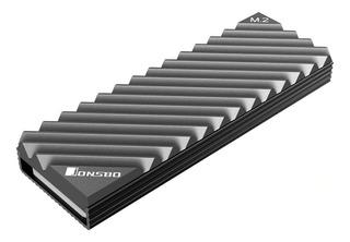 Dissipador De Calor Slim Ssd M.2 Nvme Sata 2280 Aluminio