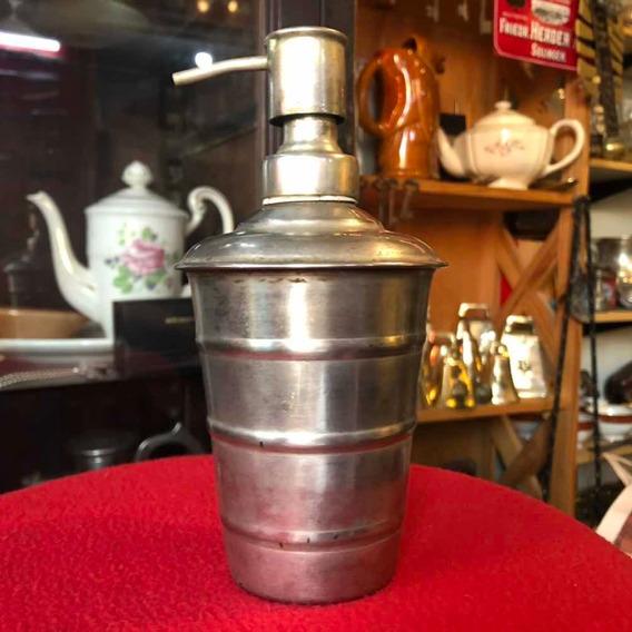 Antiguo Atomizador Dispenser Para Barbería