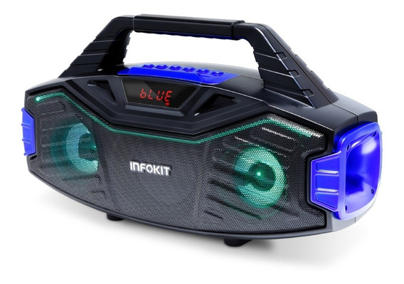 Mini Sytem Wireless Bluetooty Portatil 15w Karaoke/fm/usb/tf