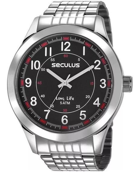 Relógio Seculus Masculino 23644g0svna1 C/ Garantia E Nf