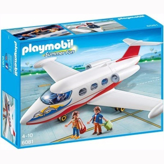 Playmobil 6081 Summer Fun Avion Jet Original Intek