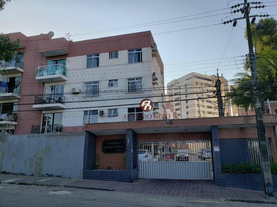 Apartamento Com 3 Dormitórios À Venda, 105 M² Por R$ 300.000 - Fátima - Fortaleza/ce - Ap0430