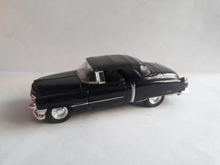 Miniatura Cadillac Eldorado Preto 1953- Welly- No Uno,palio