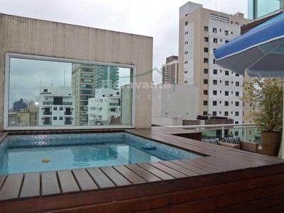 Cobertura Com 3 Dorms, Boqueirão, Santos - R$ 2.4 Mi, Cod: 3309 - A3309