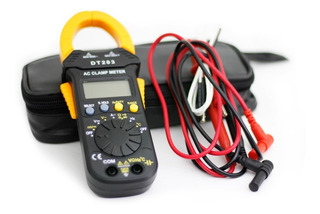 Pinza Amperometrica Dt-203 Compacta Y Completa Capacimetro