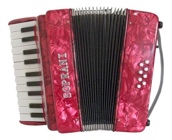 Acordeon A Piano Soprani Spgde Grande 8 Bajos - Envios