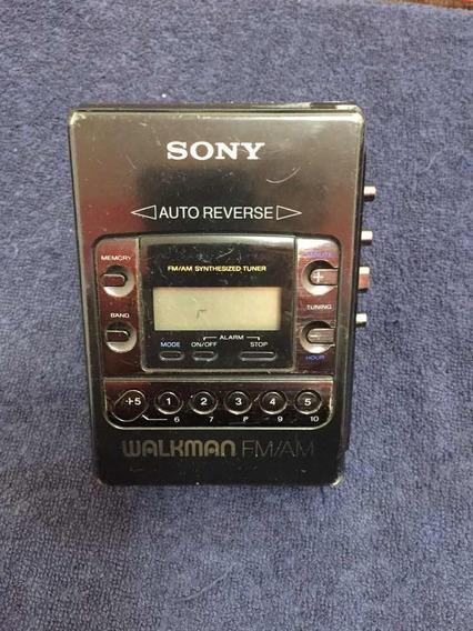 Sony Walkman Wm-f2081 Leia O Anúncio!