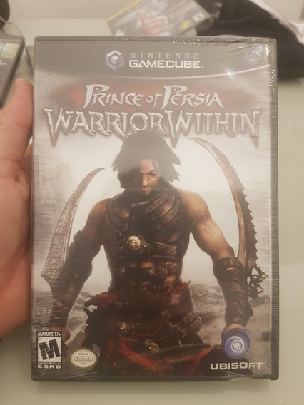 Prince Of Persia Warrior Within Nintendo Gamecube Lacrado!!!