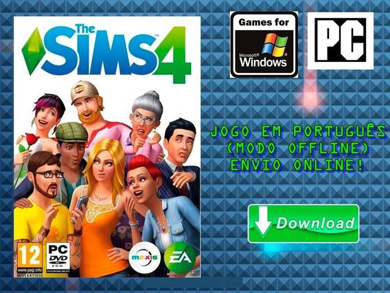 The Sims 4 + Todas As Dlcs - Pc - Mídia Digital!!!