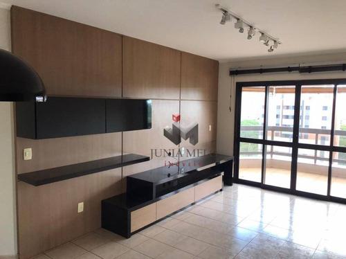À Venda Por R$ 460.000  Apartamento Com 3 Dormitórios , 144 M² - Jardim Botânico - Ribeirão Preto/sp - Ap3582