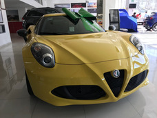 Alfa Romeo 4c 1.8 Tct At 2017