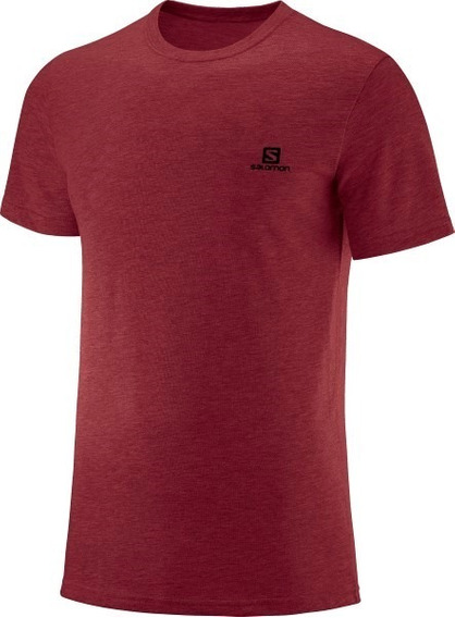 Remeras Hombre - Salomon - Cotton Ss Tee Ii - Casual