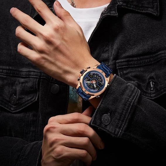 Relógio Naviforce 9170 À Prova D
