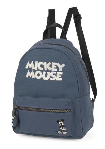 Bolsa Mochila Mickey Mouse Disney 78493 Canvas Original