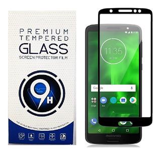 Vidrio Templado Glass Moto E5 E5 Plus Full Cover 5d