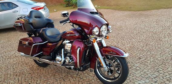 Harley Davidson Ultra Limited 2017 Com 8.000 Km