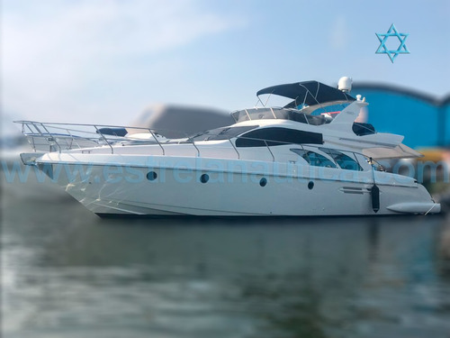 Lancha Intermarine 560 Full Barco Iate Azimut Cimitarra Fs