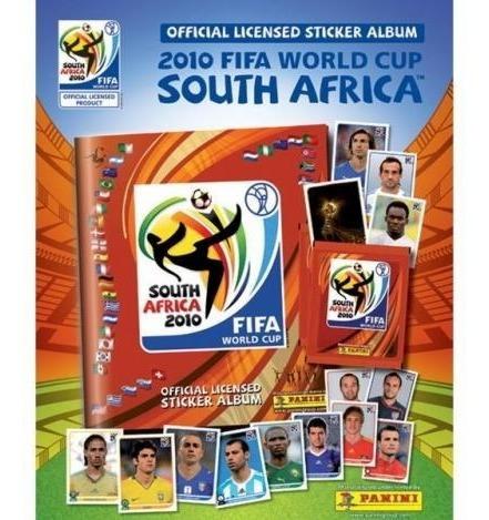 Estampas Panini Futbol Album Sudafrica 2010 Dist0