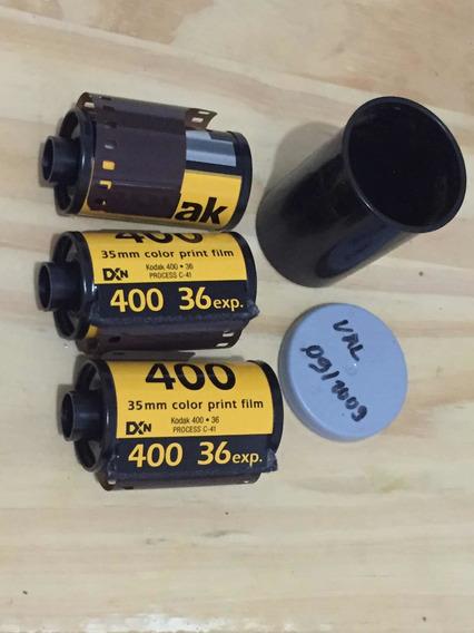 3 Filmes Kodak 400 ( Vencido 9/2009)