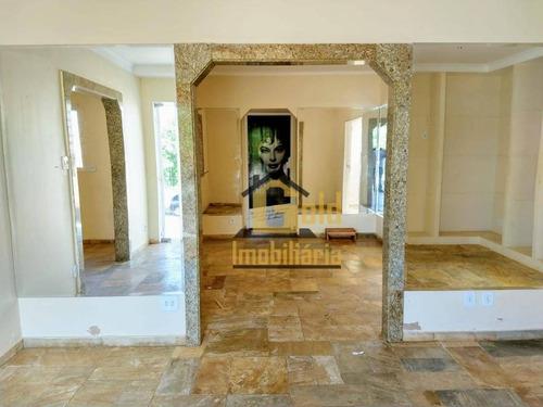 Casa Com 3 Dormitórios Para Alugar, 118 M² Por R$ 2.900,00/mês - Jardim São Luiz - Ribeirão Preto/sp - Ca1049