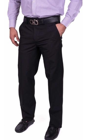 Pantalón Casual, Vestir, Formal Caballero Gabardina Moderno