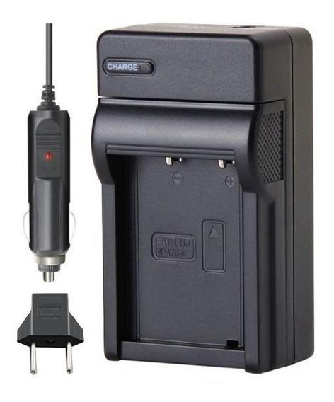 Carregador De Bateria Np-w126 Para Fuji Finepix Hs30 Exr