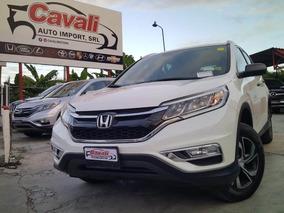 Honda Cr-v Awd Blanca 2015