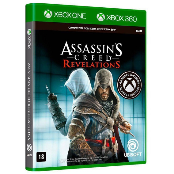 Jogo Assassins Creed Revelations Xbox One