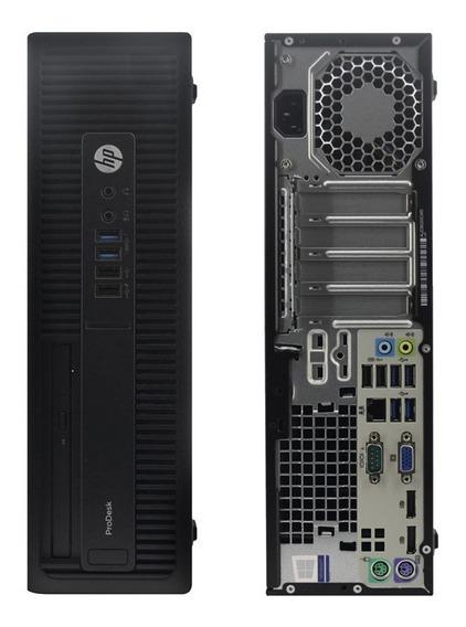 Desktop Hp Elitedesk 600 G1 Hd 500 Intel Core I5 Perfeto! Com Nota Fiscal E Garantia Pronta Entrega