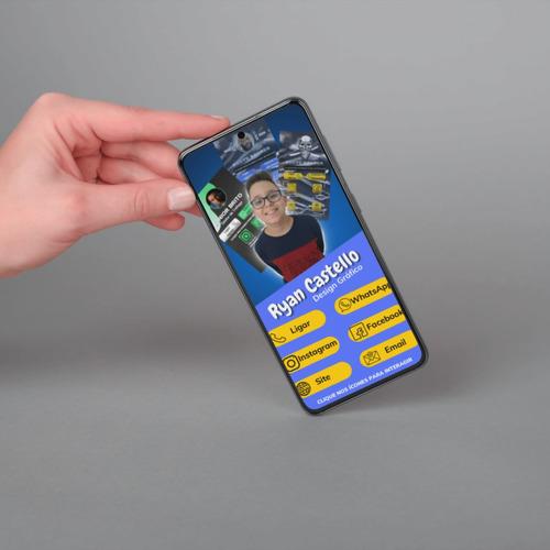 Cartões De Visita Interativo