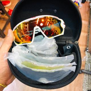 Óculos Esportivo Ciclismo Mtb Speed Corrida Oakley 5 Lentes E Com 3 Lententes